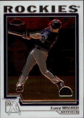 Photo of 2004 Topps Chrome #270 Larry Walker