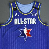 LukaDoncic - 2020 NBA All-Star - Game-Worn Jersey Charity Auction - Team LeBron - 1st and 2nd Quarter