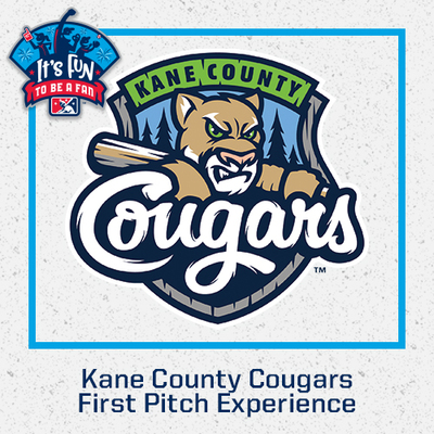Kane County Cougars First Pitch Experience