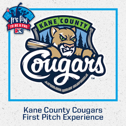 Photo of Kane County Cougars First Pitch Experience