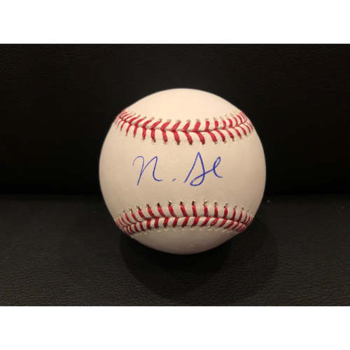 Photo of Reds Authentics: Nick Senzel -- Autographed Baseball