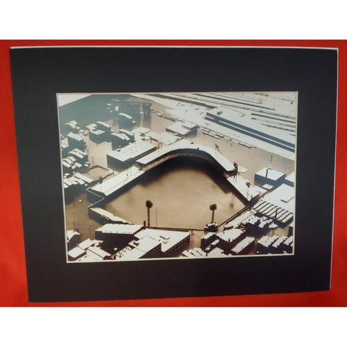 Photo of Matted Crosley Field Flood - 11x14