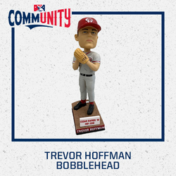 Photo of Trevor Hoffman Cedar Rapids Kernels Bobblehead