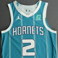 LaMelo Ball - Charlotte Hornets - Game-Worn Icon Edition Jersey - First NBA Points Scored