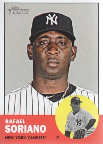 Photo of 2012 Topps Heritage #155 Rafael Soriano