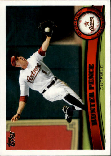 Photo of 2011 Topps #45 Hunter Pence