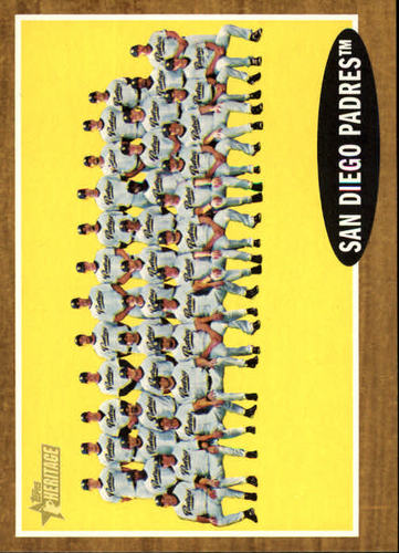 Photo of 2011 Topps Heritage #22 San Diego Padres