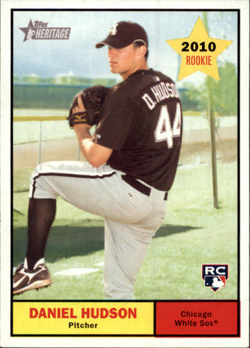 Photo of 2010 Topps Heritage #124 Daniel Hudson RC