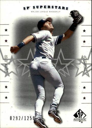 Photo of 2001 SP Authentic #138 Derek Jeter SS