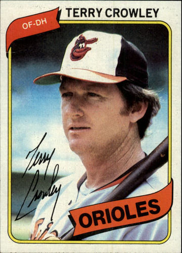 Photo of 1980 Topps #188 Terry Crowley