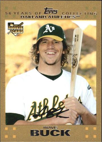 Photo of 2007 Topps Update Gold #177 Travis Buck