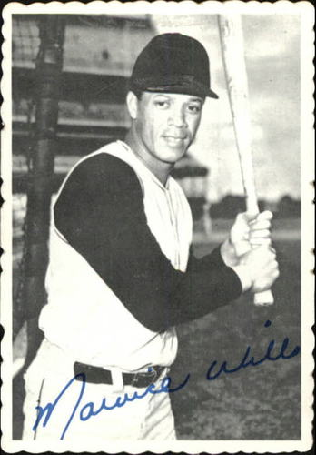 Photo of 1969 Topps Deckle Edge #24 Maury Wills