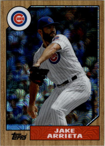 Photo of 2017 Topps '87 Topps Silver Pack Chrome #87JAR Jake Arrieta