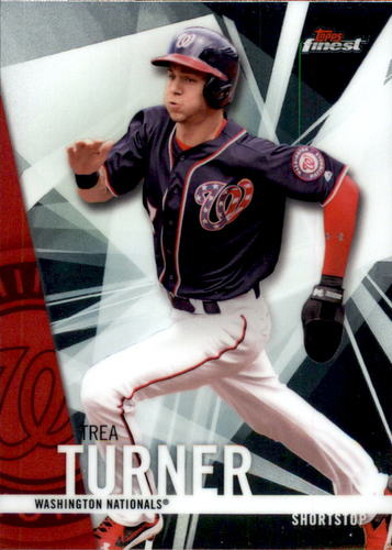 Photo of 2017 Finest #7 Trea Turner