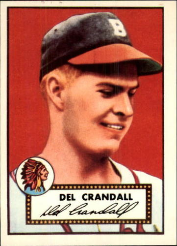 Photo of 1983 Topps 1952 Reprint #162 Del Crandall
