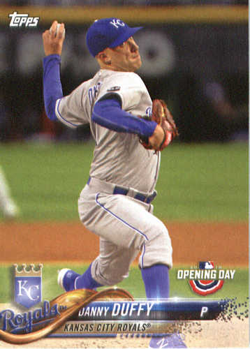 Photo of 2018 Topps Opening Day #54 Danny Duffy