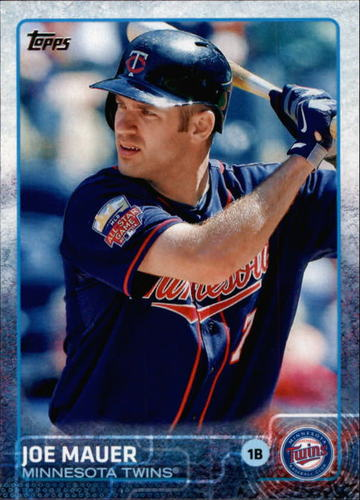 Photo of 2015 Topps #700A Joe Mauer