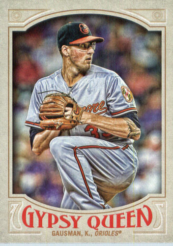 Photo of 2016 Topps Gypsy Queen #237 Kevin Gausman