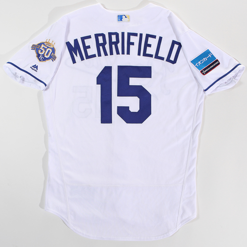 Photo of 2018 Japan Series Game-Used Jersey - Whit Merrifield - Size 44