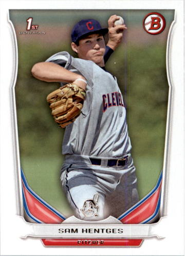 Photo of 2014 Bowman Draft #DP117 Sam Hentges