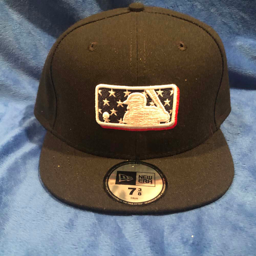 Photo of UMPS CARE AUCTION: MLB Specialty Stars Umpire Plate Cap, Size 7 3/8