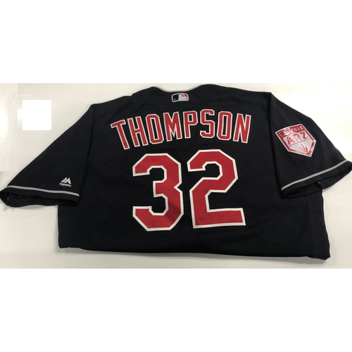 Trayce Thompson Game Used 2019 Spring Training Jersey