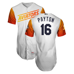 Photo of Mark Payton #16 Las Vegas Aviators 2019 Home Jersey