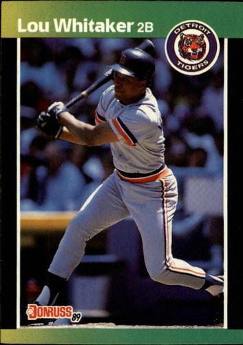 Photo of 1989 Donruss #298 Lou Whitaker