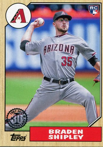 Photo of 2017 Topps '87 Topps #87107 Braden Shipley