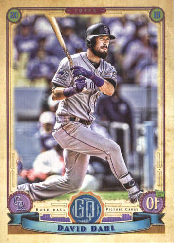 Photo of 2019 Topps Gypsy Queen #241 David Dahl