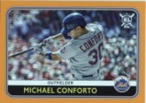Photo of 2020 Topps Big League Orange #100 Michael Conforto