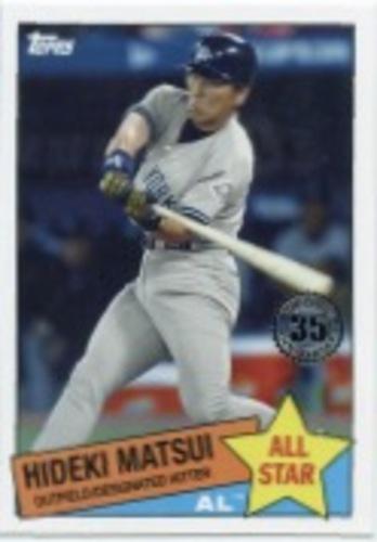 Photo of 2020 Topps '85 Topps All Stars #85AS10 Hideki Matsui