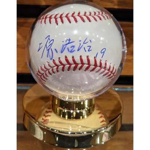 Photo of Koji Uehara #19 Kanji Autographed Baseball