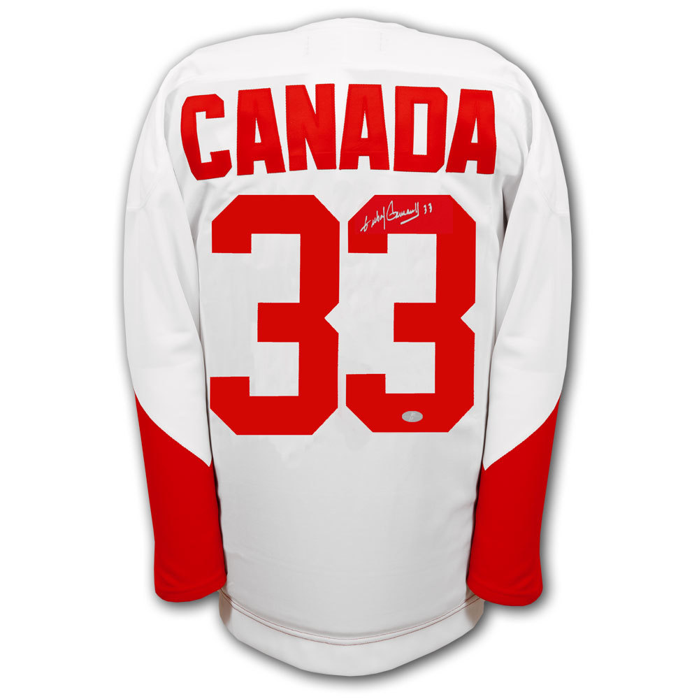 Gilbert Perreault Team Canada 1972 Summit Series Autographed Jersey