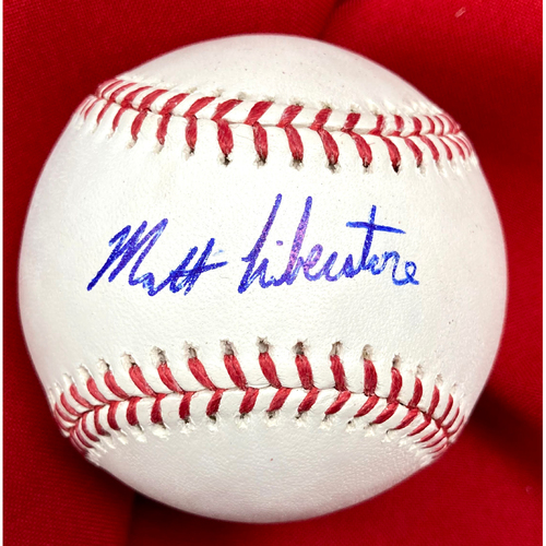 Photo of Matthew Liberatore Autographed Baseball