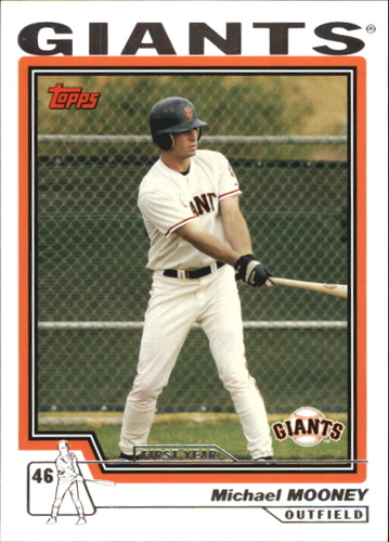 Photo of 2004 Topps Traded #T212 Michael Mooney FY RC