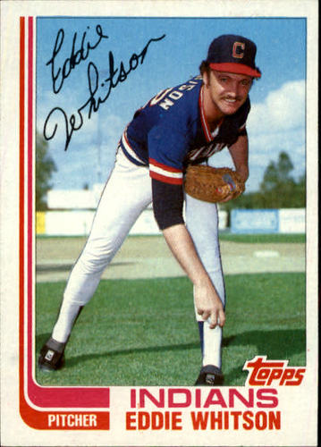 Photo of 1982 Topps Traded #127T Eddie Whitson