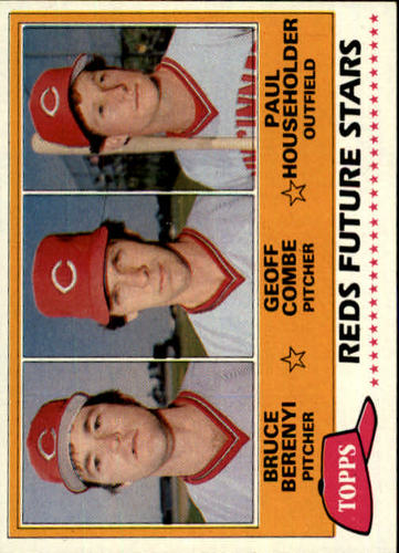 Photo of 1981 Topps #606 Bruce Berenyi RC/Geoff Combe RC/Paul Householder RC DP