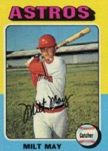 Photo of 1975 Topps #279 Milt May