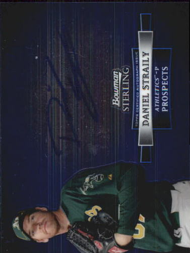 Photo of 2012 Bowman Sterling Prospect Autographs #DS Daniel Straily