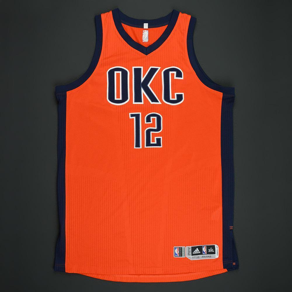 okc orange jersey