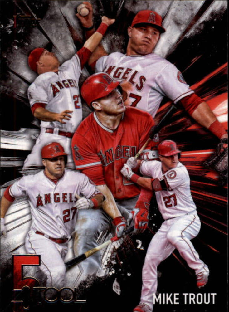 2017 Topps Five Tool #5T1 Mike Trout