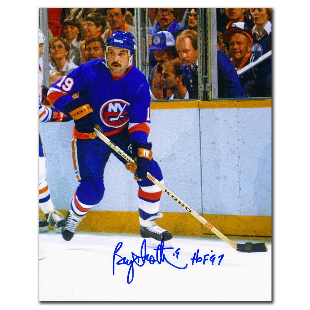 Bryan Trottier New York Islanders RUSH Autographed 8X10