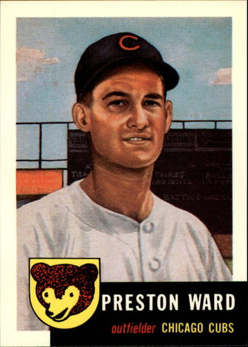 Photo of 1991 Topps Archives 1953 #173 Preston Ward