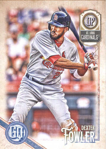Photo of 2018 Topps Gypsy Queen #261 Dexter Fowler