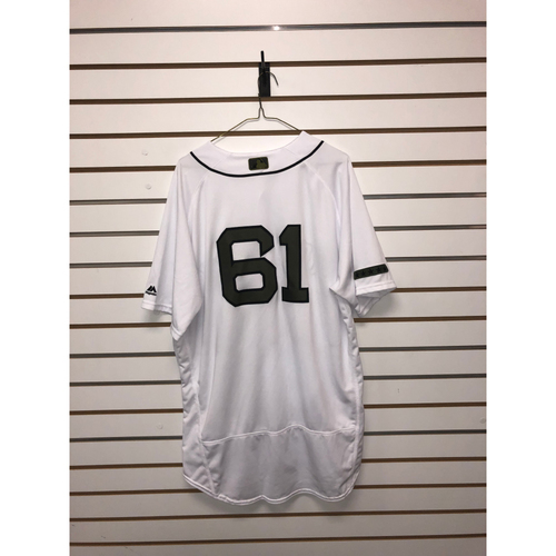 Photo of Brian Johnson Game Used May 26, 27 & 28, 2018 Memorial Day Home Jersey
