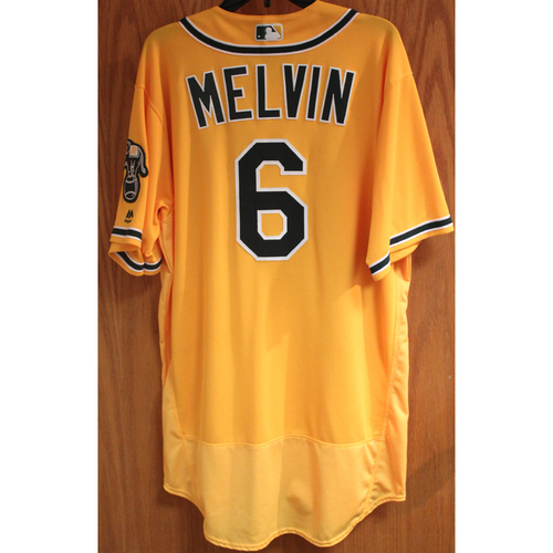 Photo of Bob Melvin 2017 Game-Used Jersey