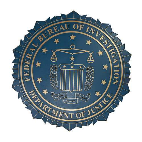 Photo of FBI Seal