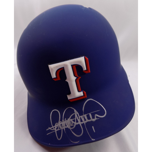 Photo of Autographed Helmet - Elvis Andrus