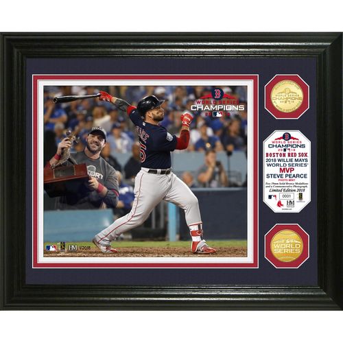 Photo of Boston Red Sox 2018 World Series MVP Bronze Coin Photo Mint